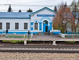 Delivery of gates for Moscow railway stations Nara and Maloyaroslavets