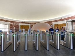 North hall of VDNKh Moscow metro station has been re-opened after renovation